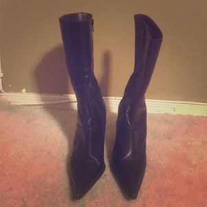 Leather boots by Guess